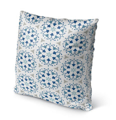 KALEIDOSCOPE Indoor|Outdoor Pillow By Marina Gutierrez