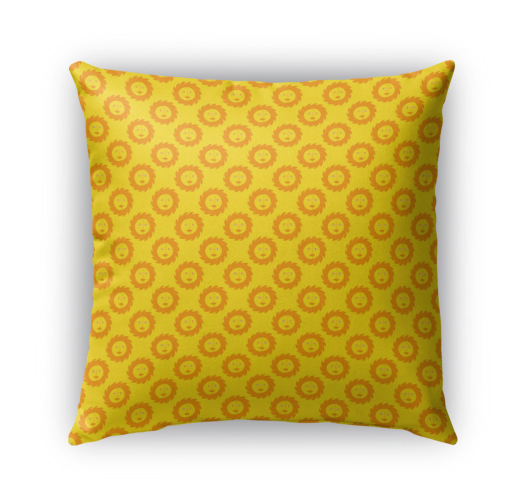 SUNSHINE PATTERN Indoor|Outdoor Pillow By Northern Whimsy