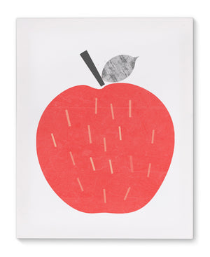 APPLE Canvas Art By Honeytree Prints