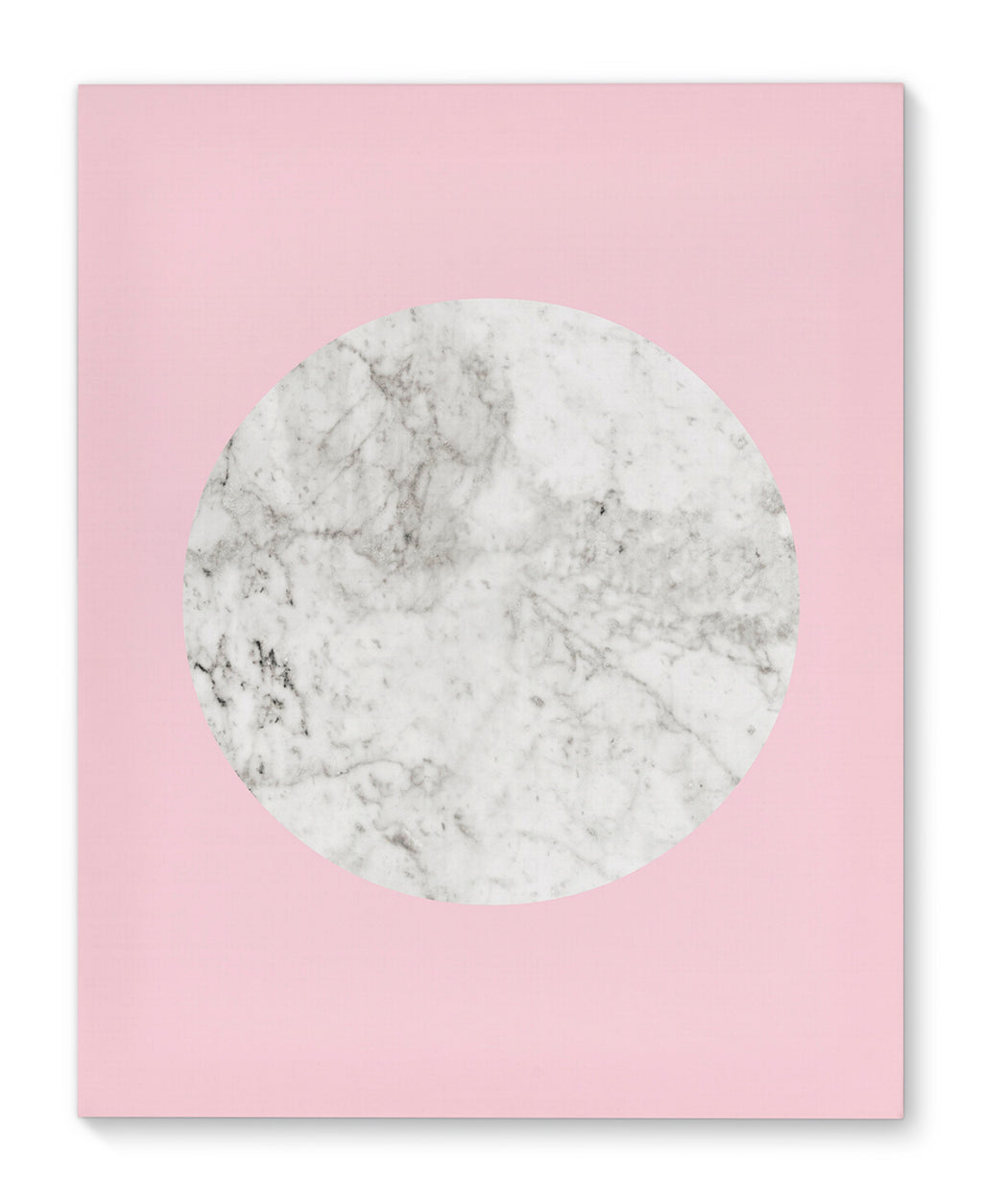 MARBLE PINK Canvas Art By Honeytree Prints