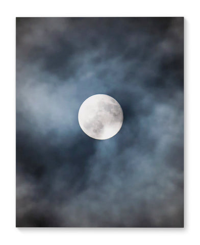 MOON Canvas Art By Honeytree Prints