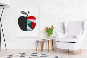 NORDIC APPLE Canvas Art By Honeytree Prints