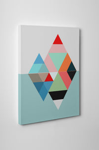 NORDIC DIAMONDS Canvas Art By Honeytree Prints