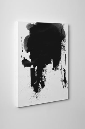 PAINT SPLASH Canvas Art By Honeytree Prints
