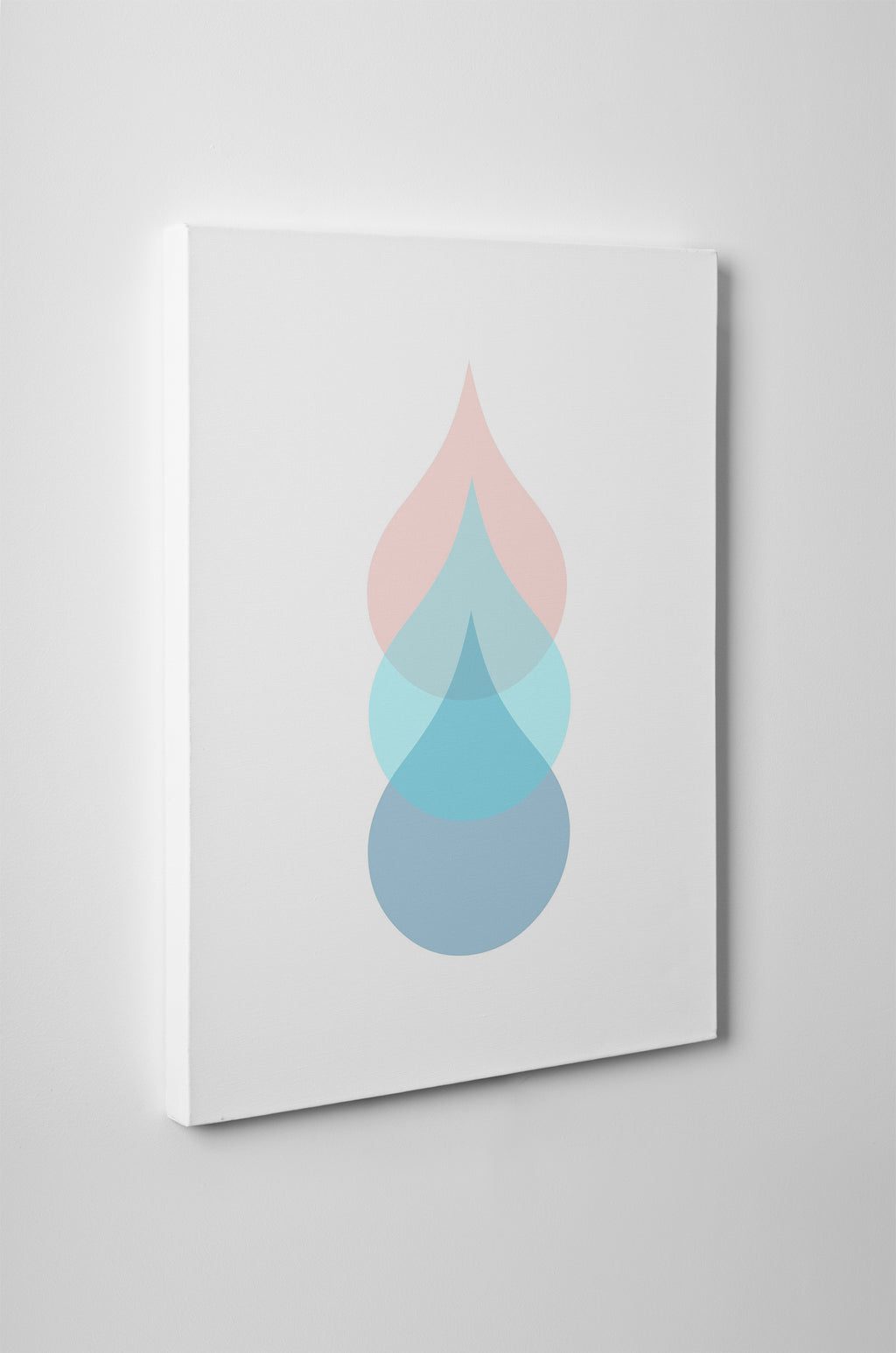 RAINDROPS Canvas Art By Honeytree Prints