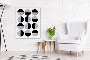 SCAN ROUND Canvas Art By Honeytree Prints