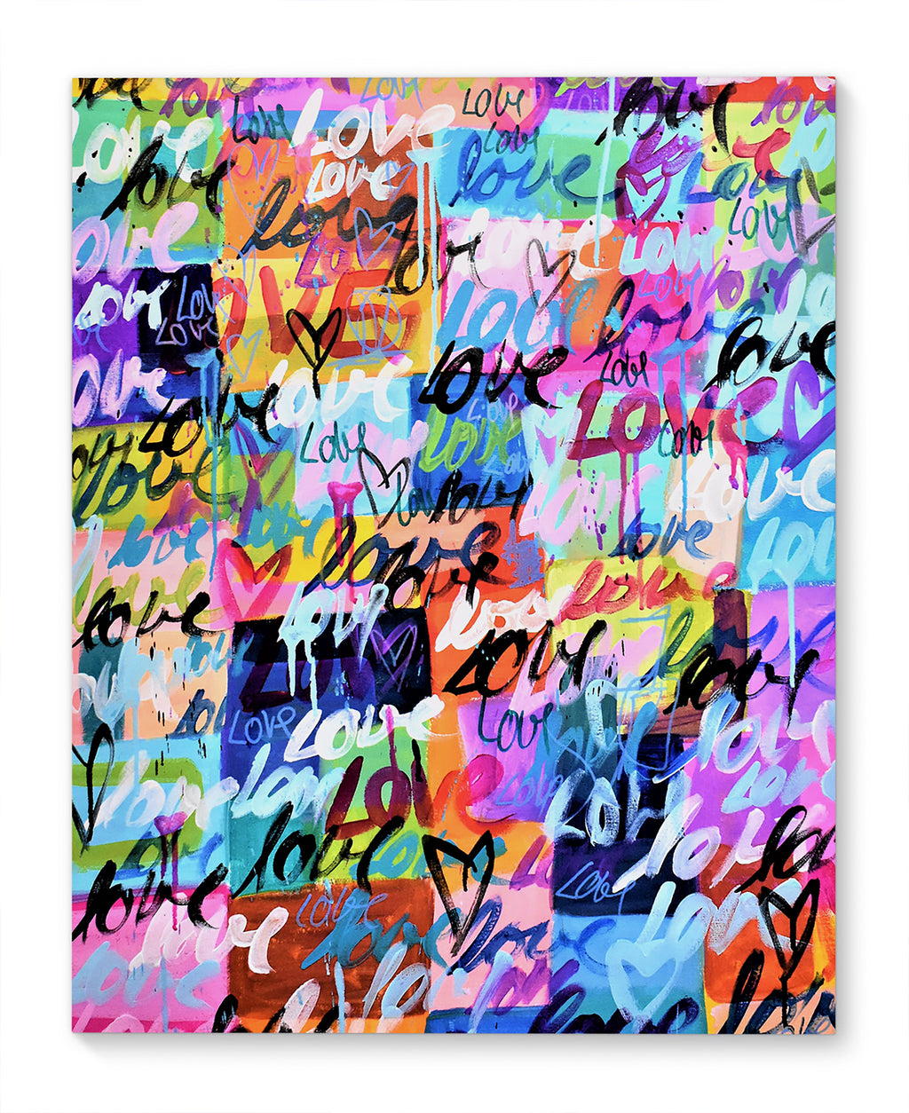 LOVE YOU Canvas Art By Jolina Anthony