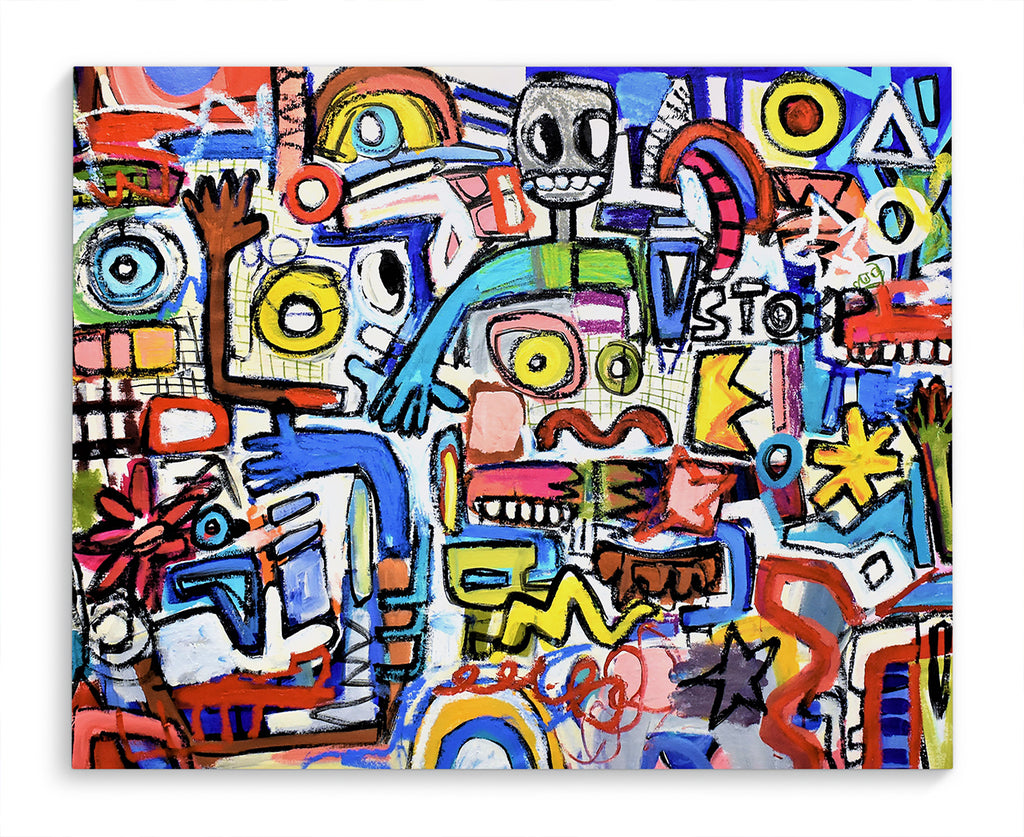 PARTY PEOPLE Canvas Art By Jolina Anthony