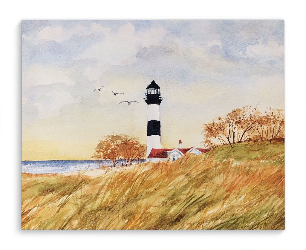 LIGHT HOUSE Canvas Art By Jayne Conte