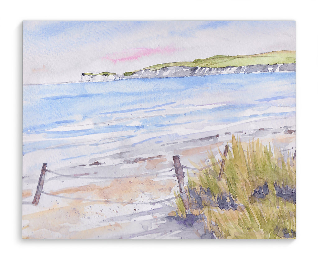 IRISH BEACH  Canvas Art By Jayne Conte