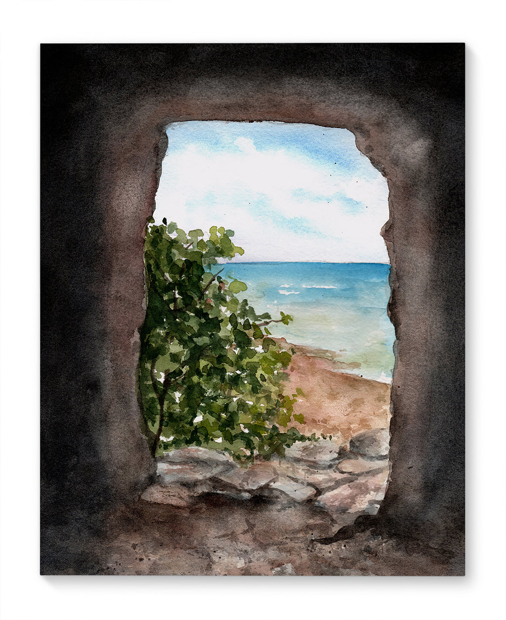 CAVE IN MEXICO Canvas Art By Jayne Conte