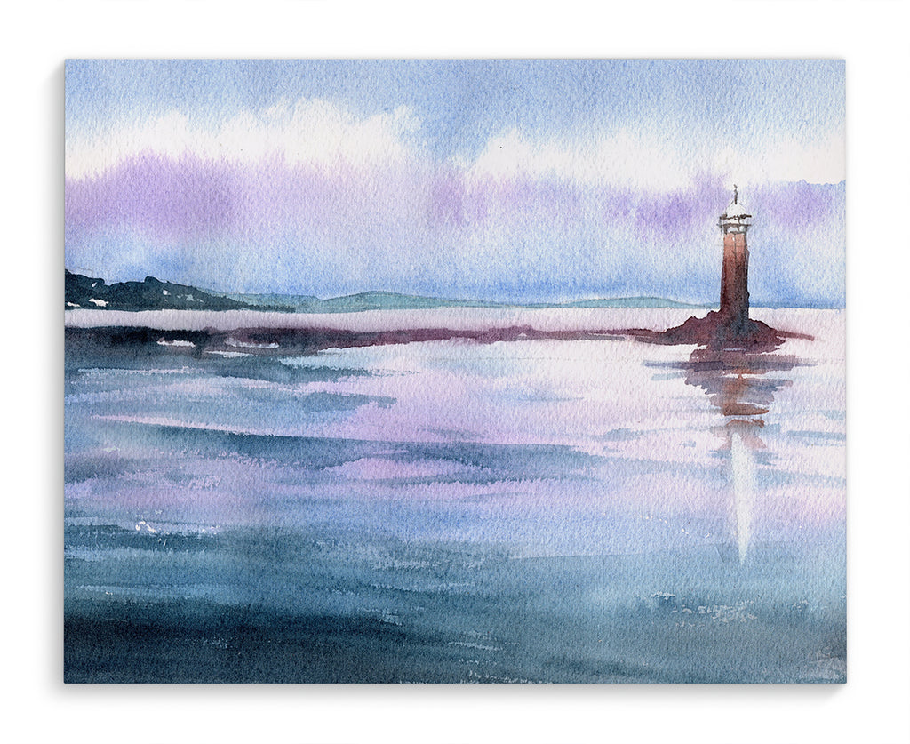 LITTLE LIGHTHOUSE Canvas Art By Jayne Conte