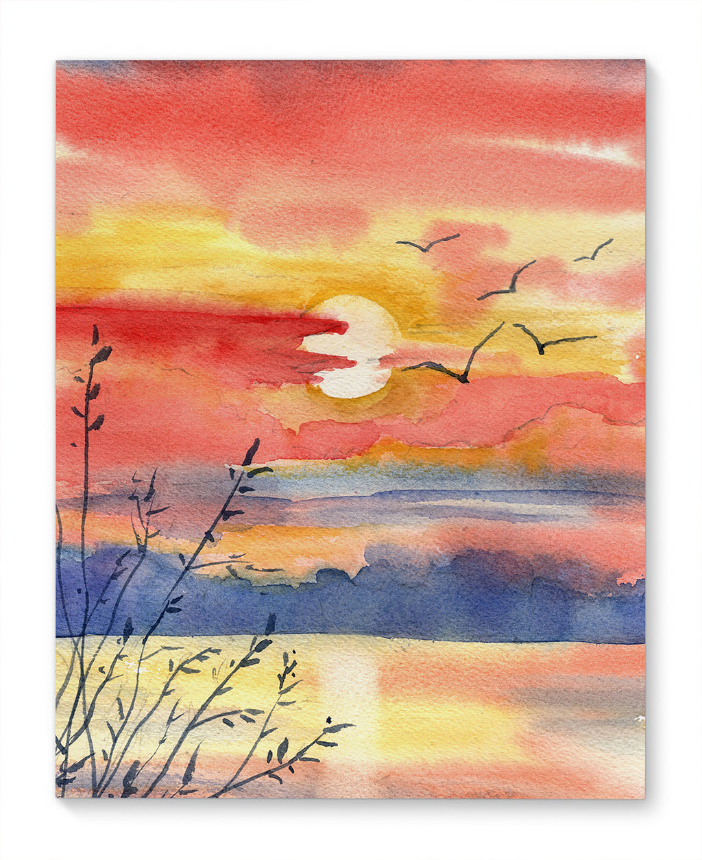 SUMMER SUNSET Canvas Art By Jayne Conte