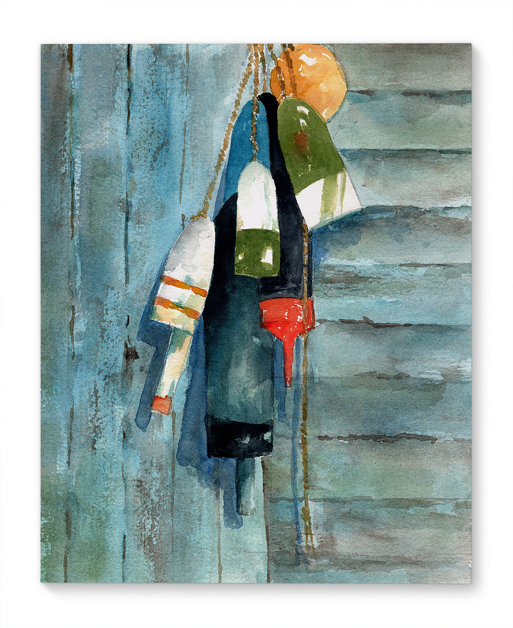 MAINE BUOYS Canvas Art By Jayne Conte