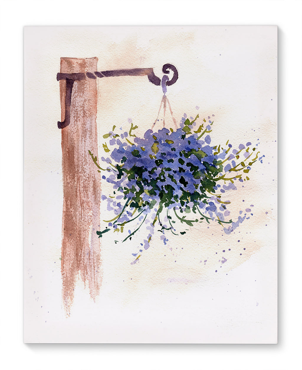 HANGING PLANT Canvas Art By Jayne Conte