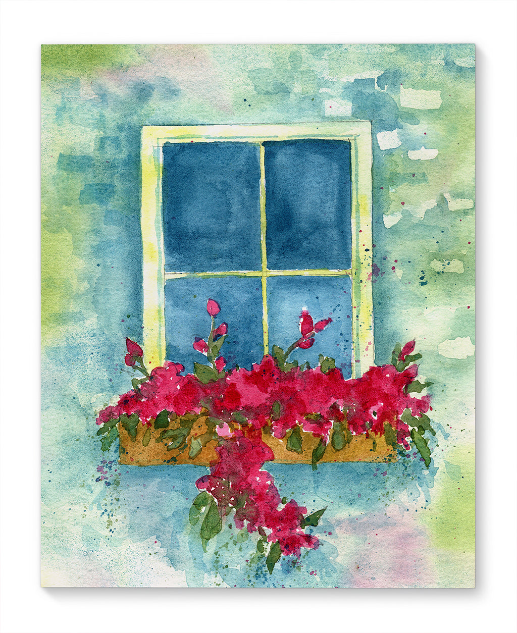 COTTAGE WINDOW Canvas Art By Jayne Conte