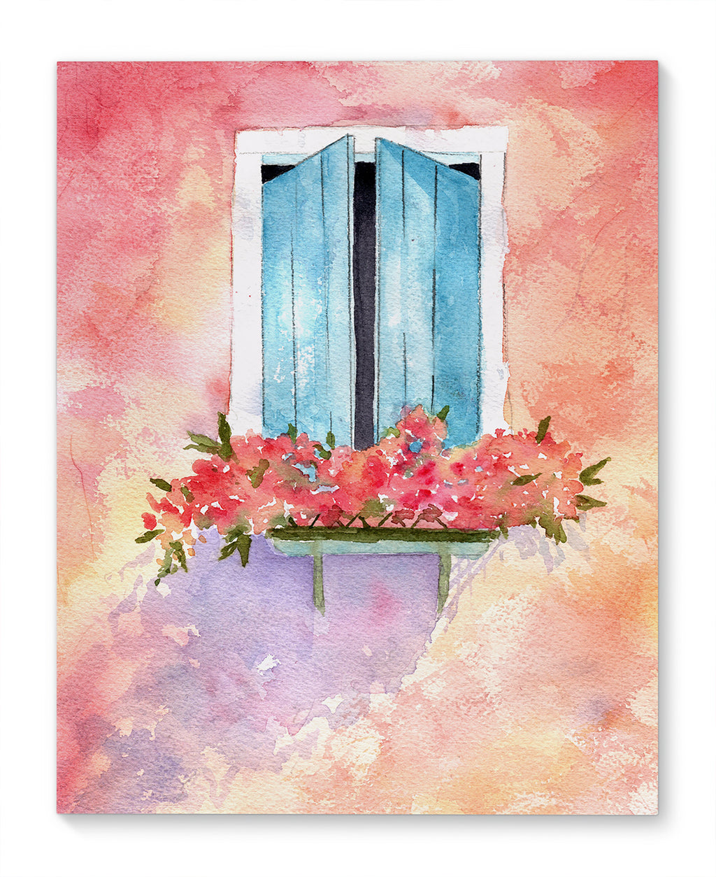 SPANISH WINDOW Canvas Art By Jayne Conte