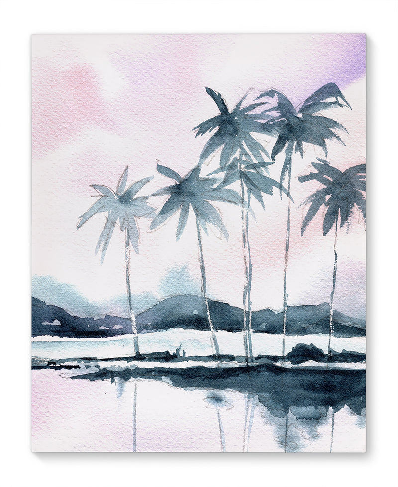 QUIET TROPICS Canvas Art By Jayne Conte