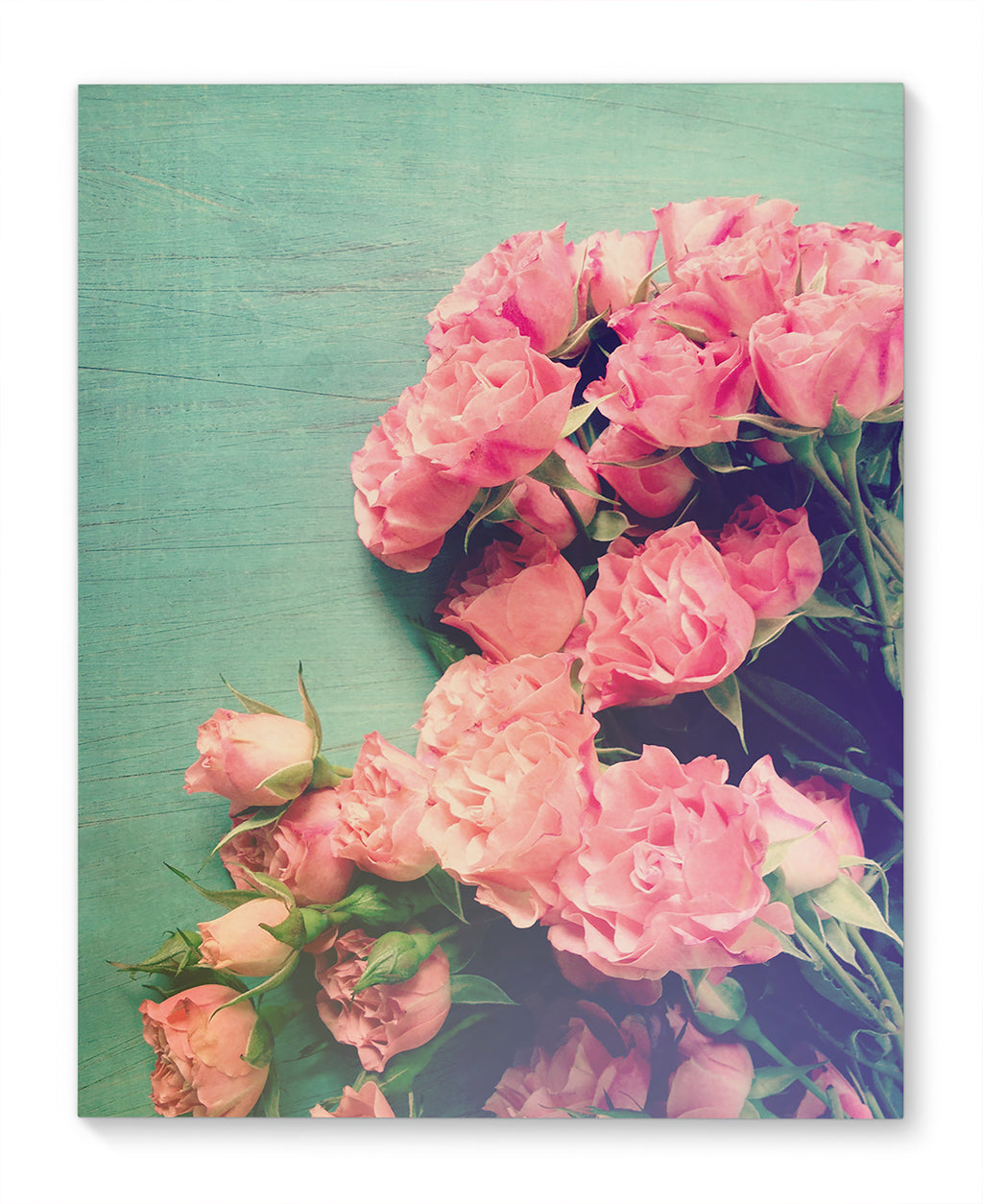 FLORAL LOUNGE Canvas Ar By Olivia St. Claire