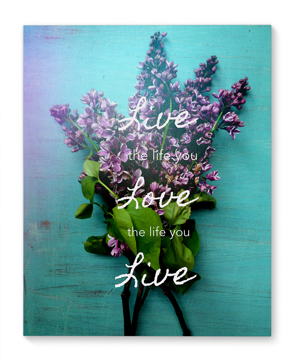 LILAC LIFE Canvas Ar By Olivia St. Claire