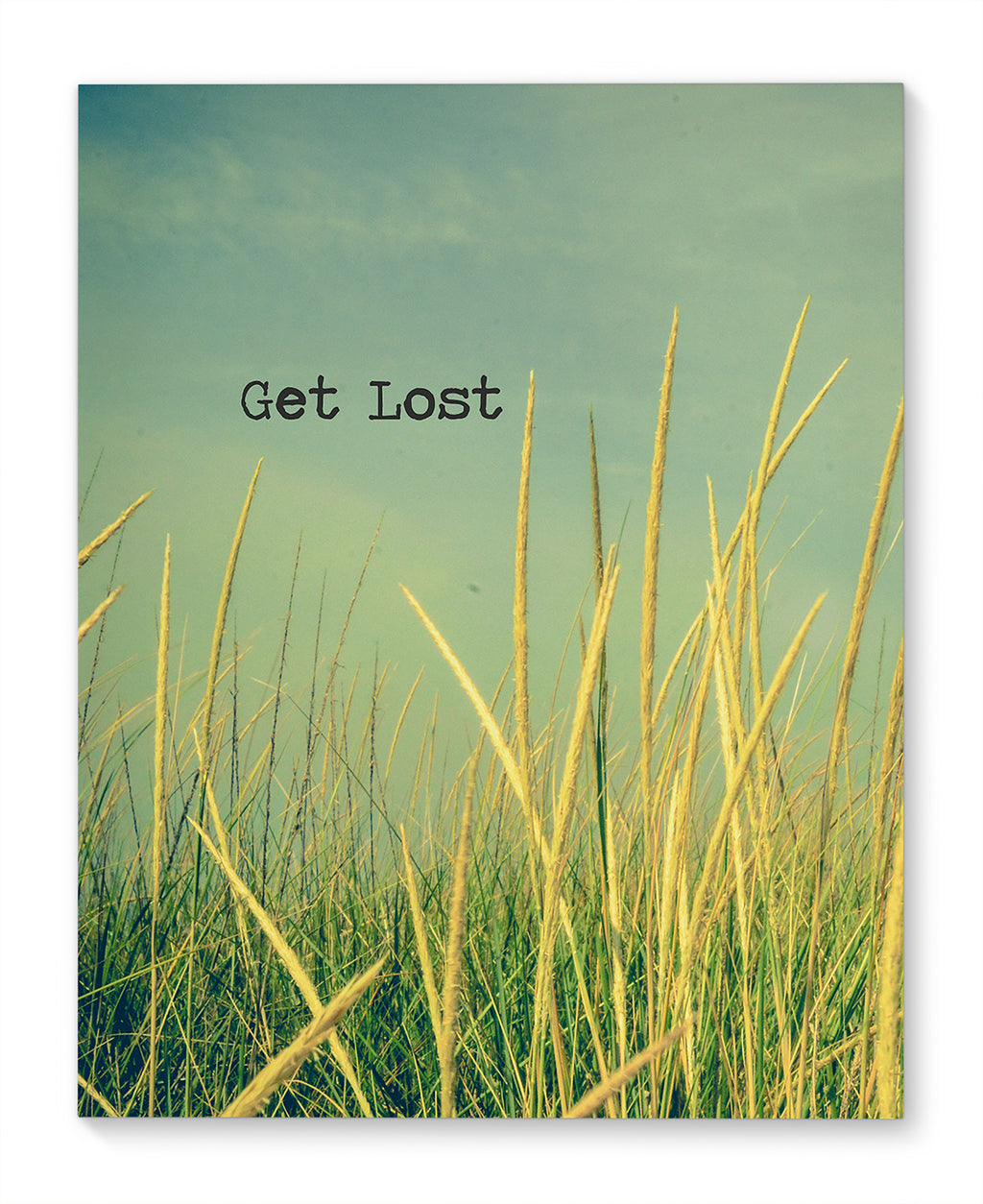 GET LOST Canvas Ar By Olivia St. Claire