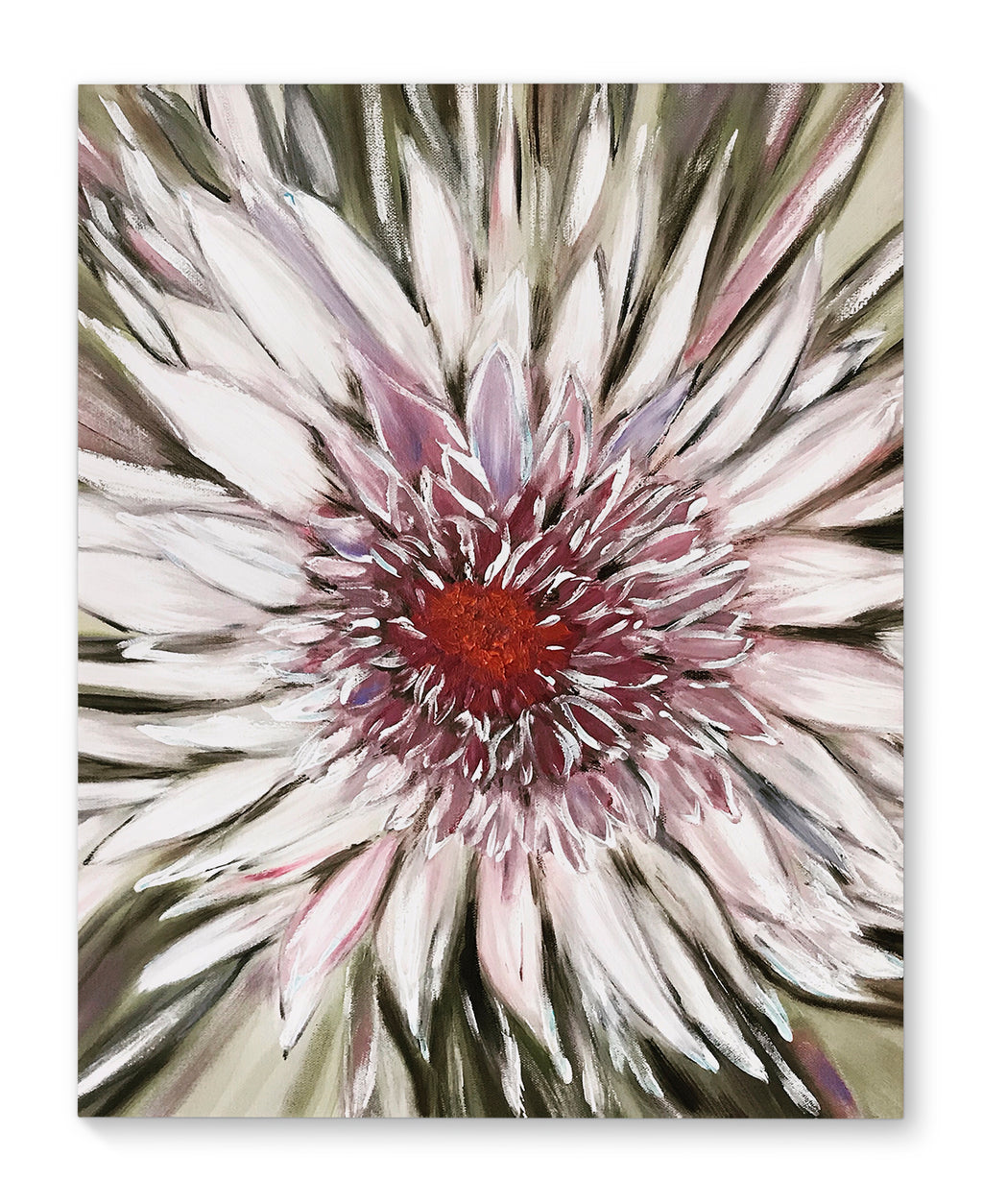 FLORAL BLOOM Canvas Art By Sheila Olsen