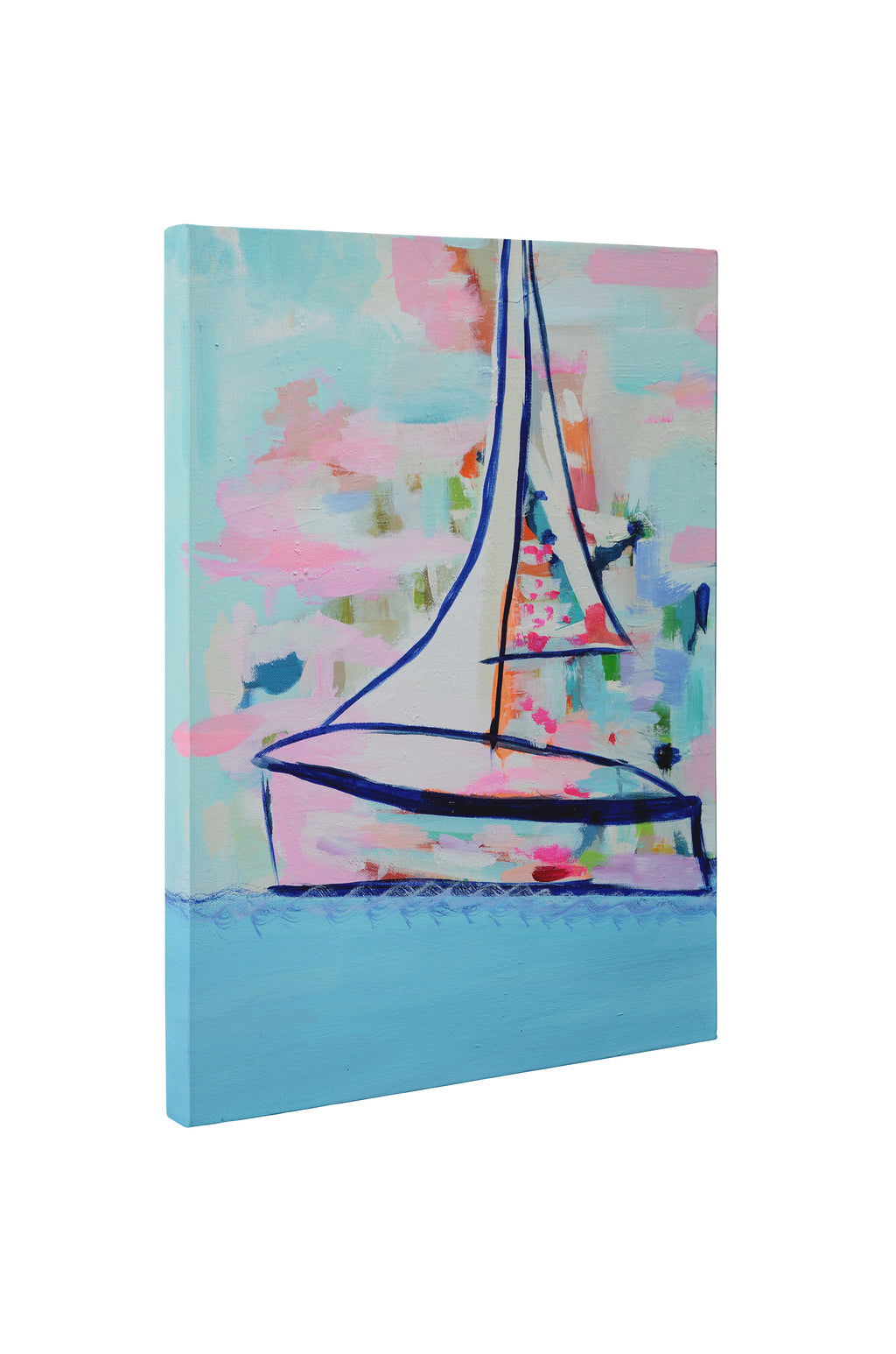 NEON DIVA Premium Canvas Gallery Wrap By Susan Skelley
