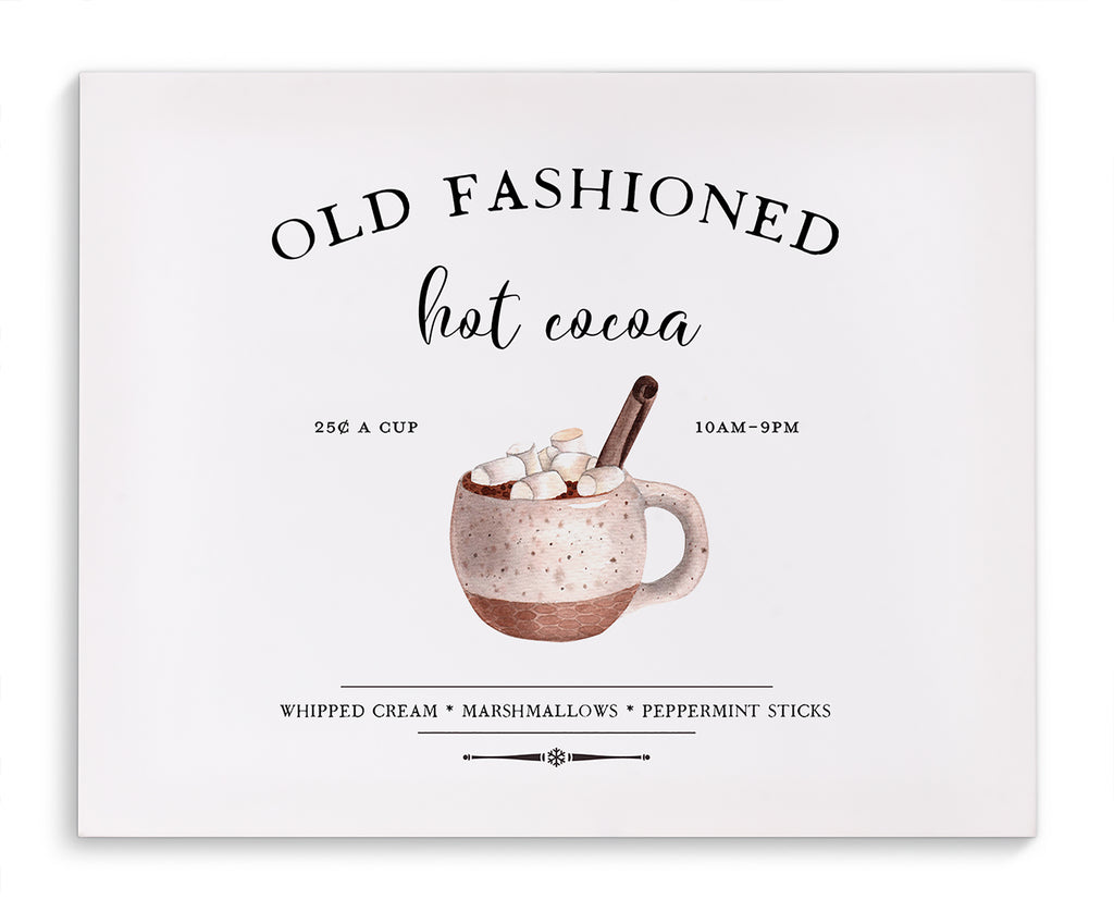 HOT COCOA Canvas Art By Terri Ellis