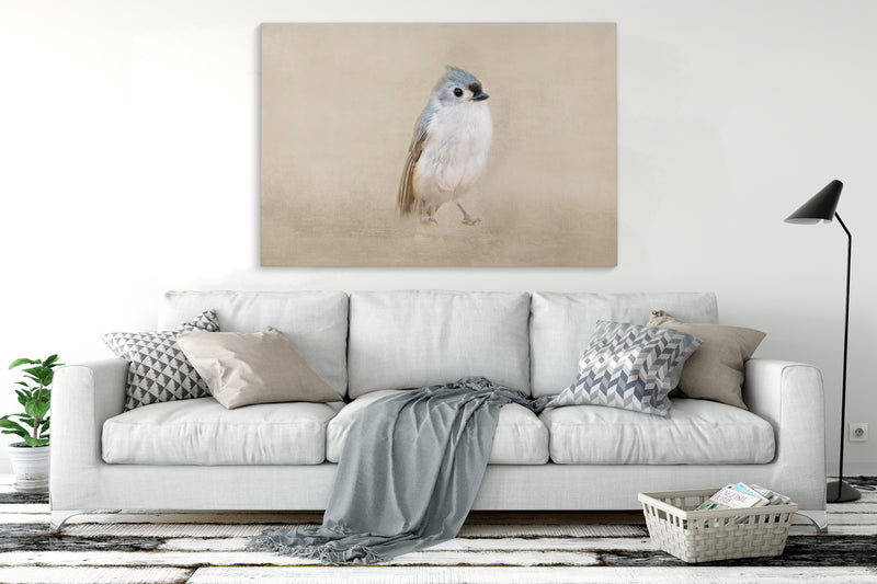 ONE LITTLE BIRD Canvas Art By Terri Ellis