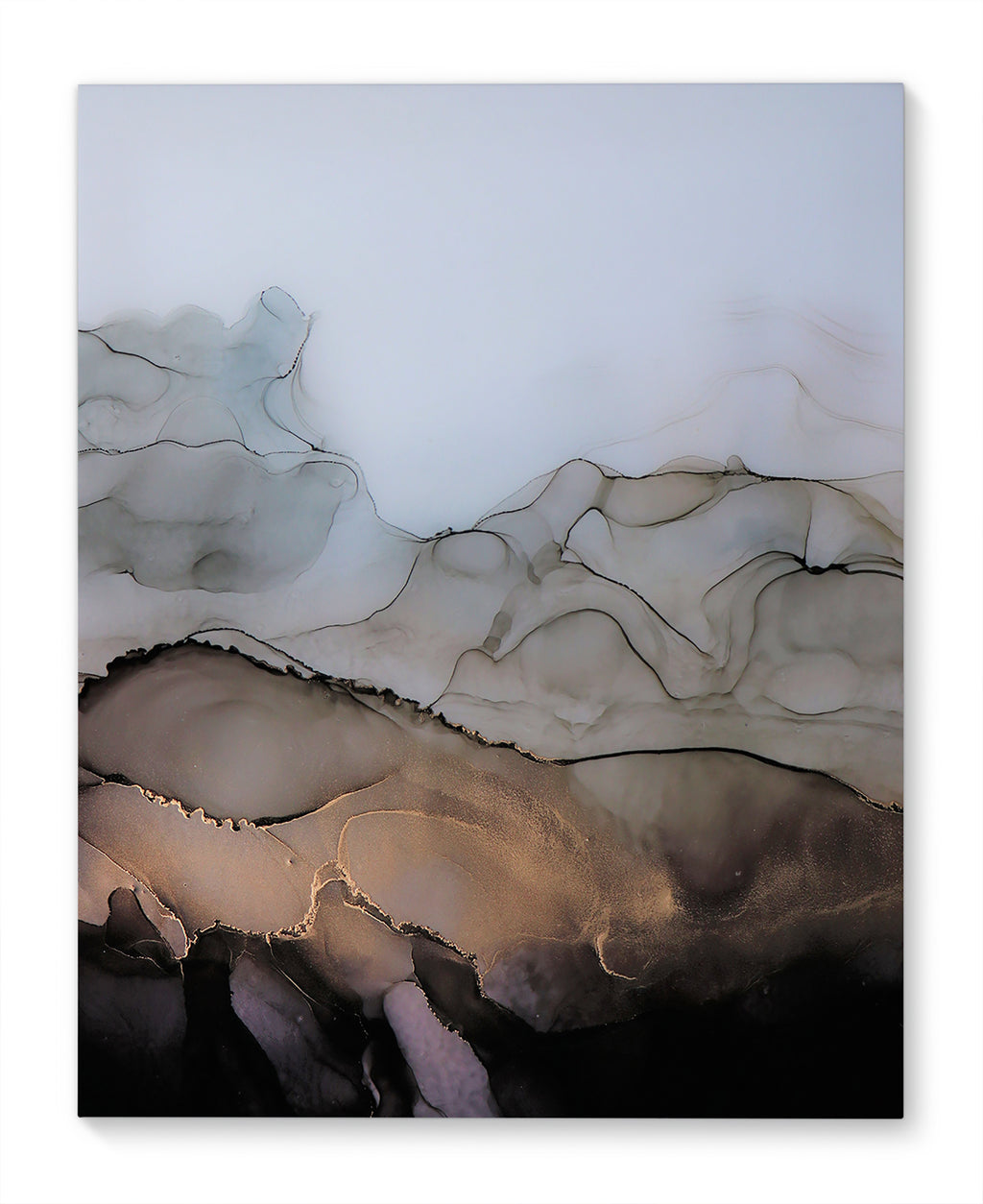 OYSTER II Canvas Art By Christina Twomey