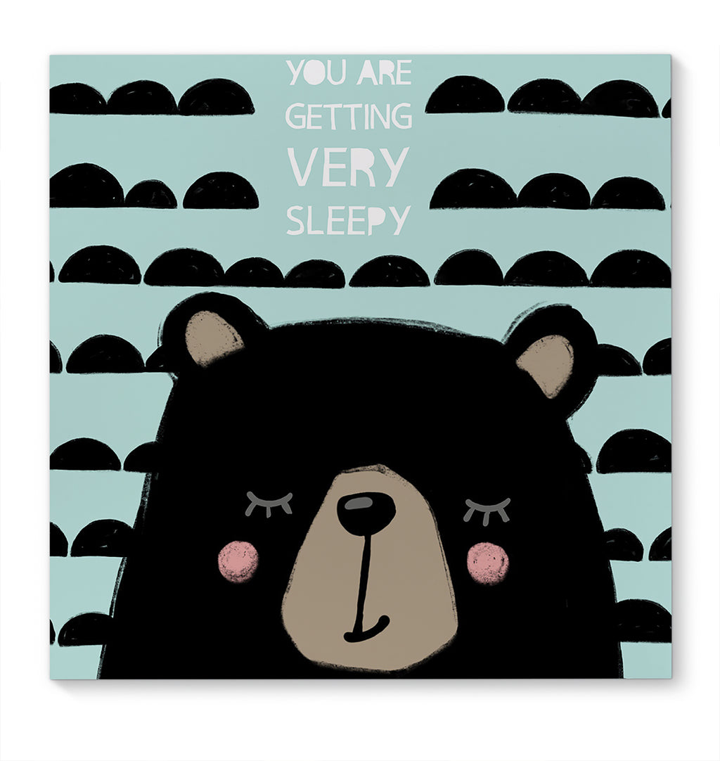 BEAR  Canvas Art By Jen Jones