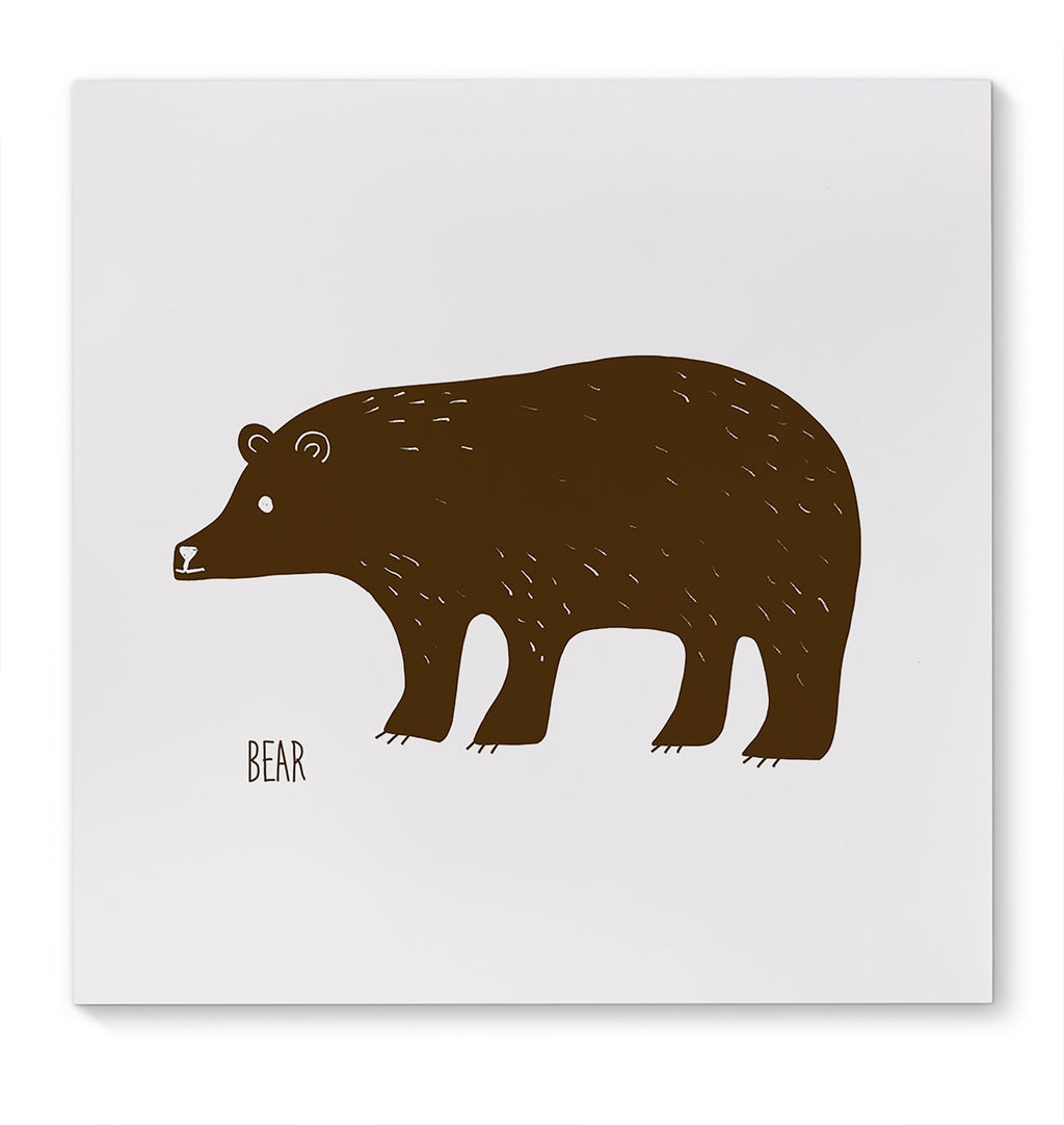 BEAR Canvas Art By Terri Ellis