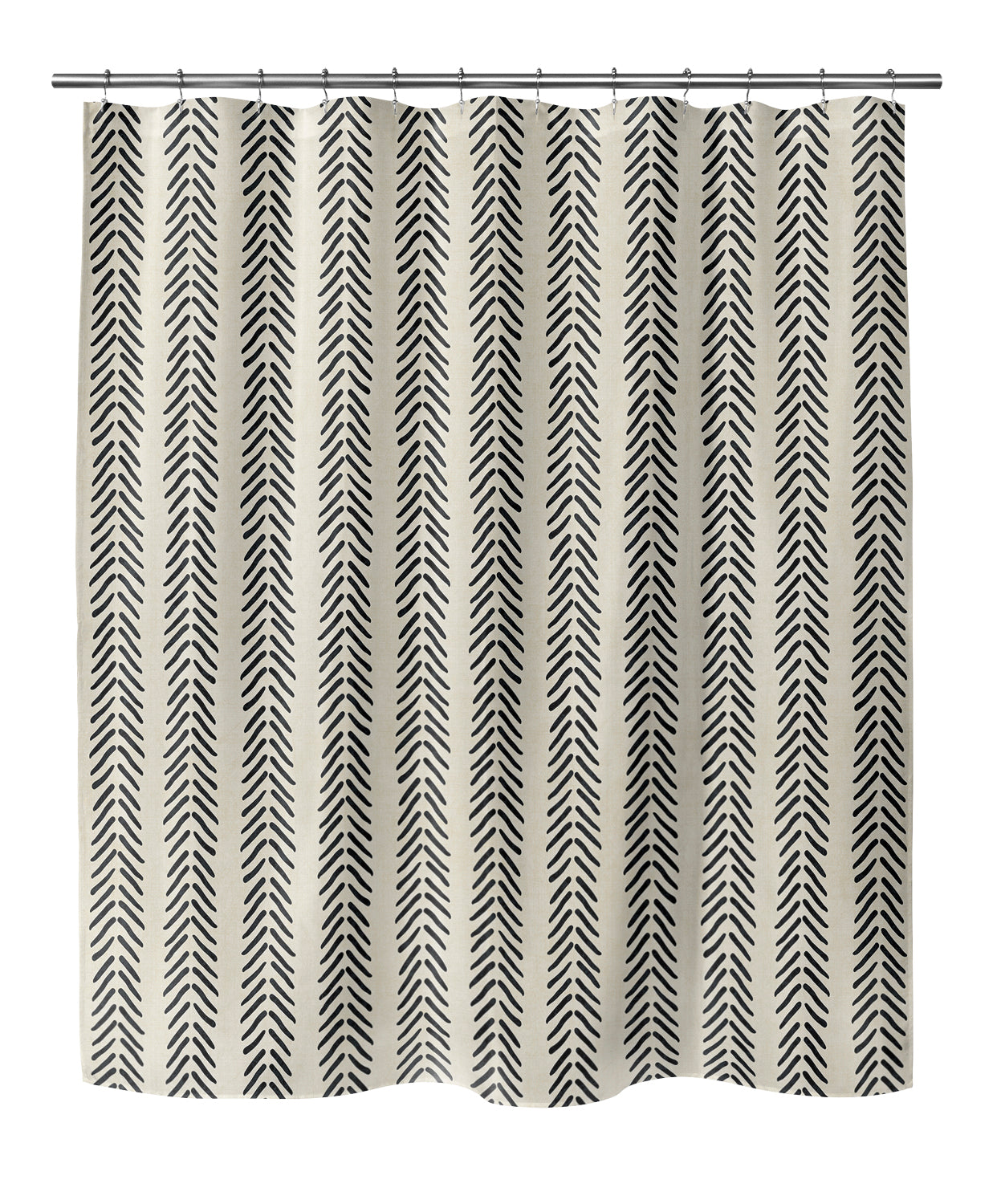 MUD CLOTH Shower Curtain By Becky Bailey
