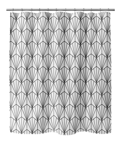 ART NOUVEAU B+W Shower Curtain By Becky Bailey