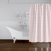 APPLES PINK Shower Curtain By Hope Bainbridge