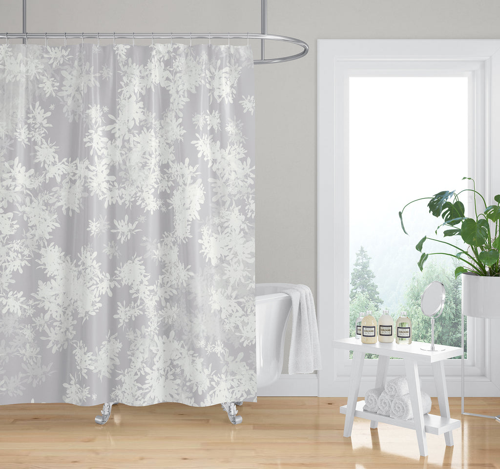 ANNA GREY Shower Curtain By Jen Jones