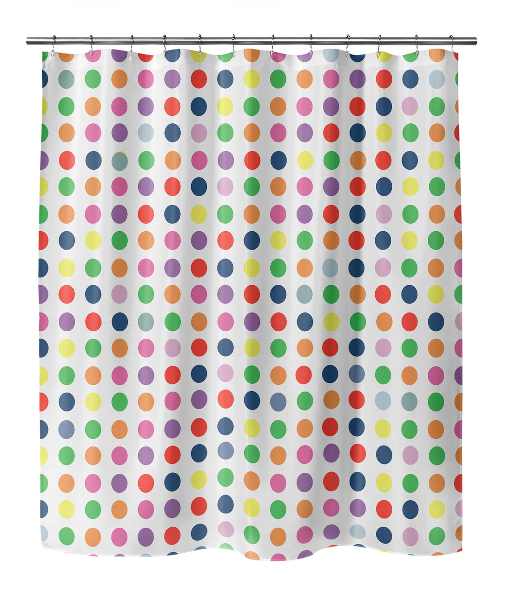 TWISTA PRIMARY Shower Curtain By Kavka Designs