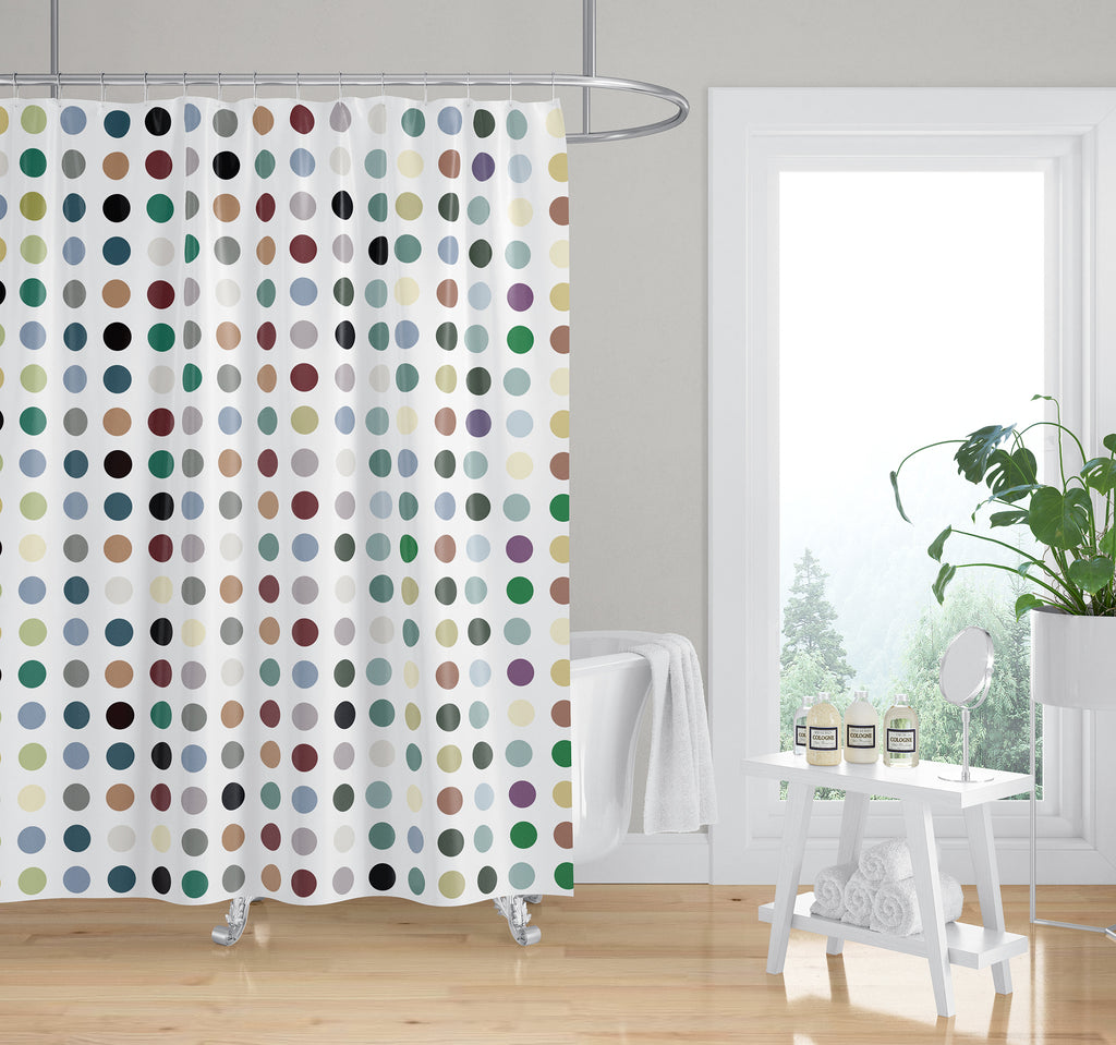 TWISTA WARM Shower Curtain By Kavka Designs