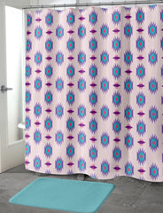 BLUE ASH Shower Curtain By Terri Ellis