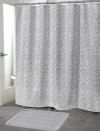 FOLI GREY Shower Curtain By Tiffany Wong