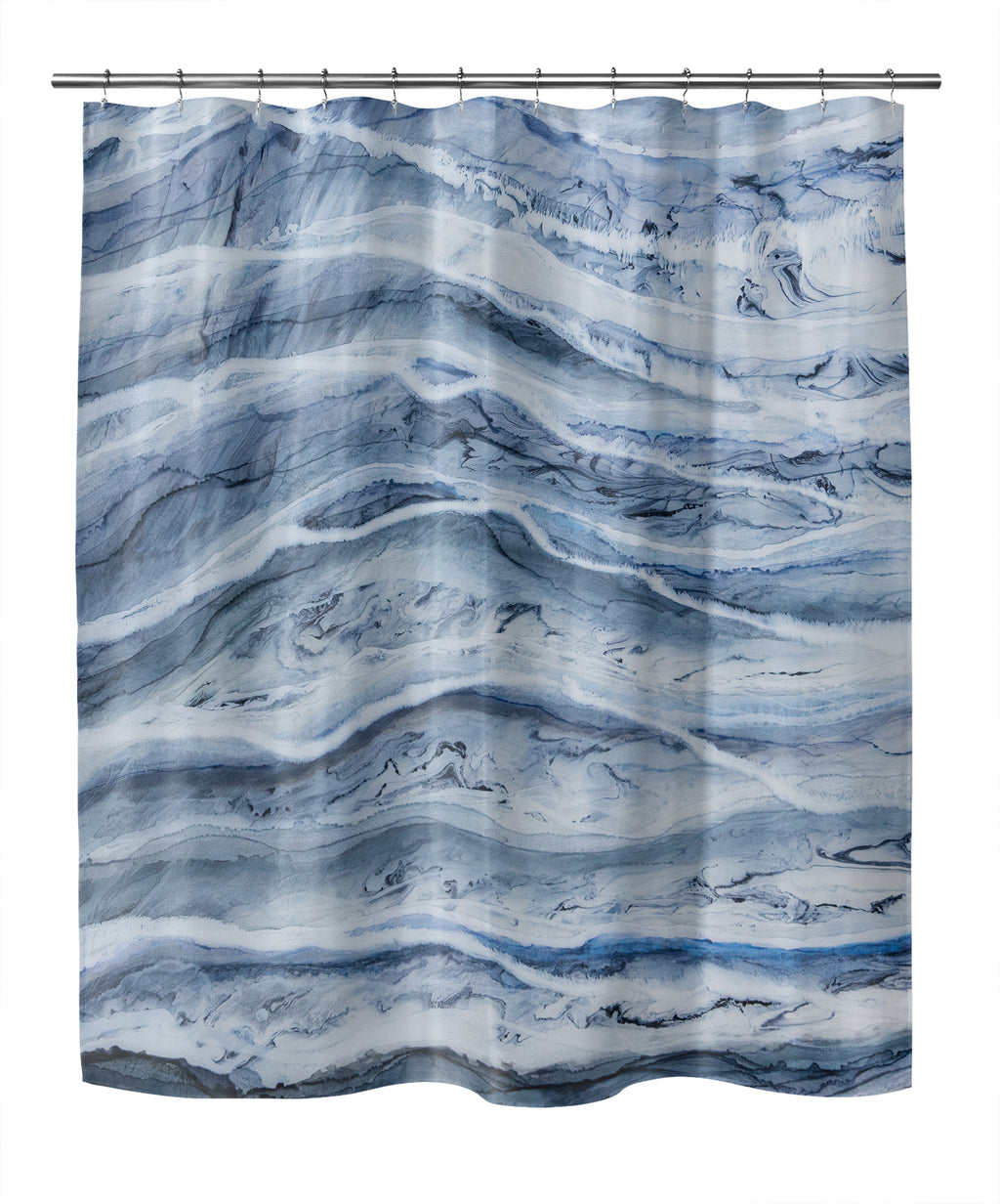 ZEBRA II BOTTOM Shower Curtain By Christina Twomey