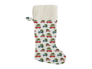 CHRISTMAS CARS Christmas Stocking by Terri Ellis