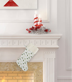 HELLOW WINTER Christmas Stocking by Terri Ellis