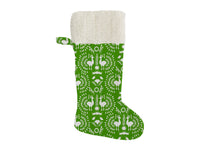 CHRISTMAS SCANDINAVIAN Christmas Stocking by Terri Ellis