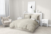 BOHO SAND 5-Piece Sherpa Comforter Set By Scandi Girl Studio