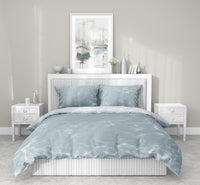 SHALLOW 5 Piece Sherpa Comforter Set By Scandi Girl Studio
