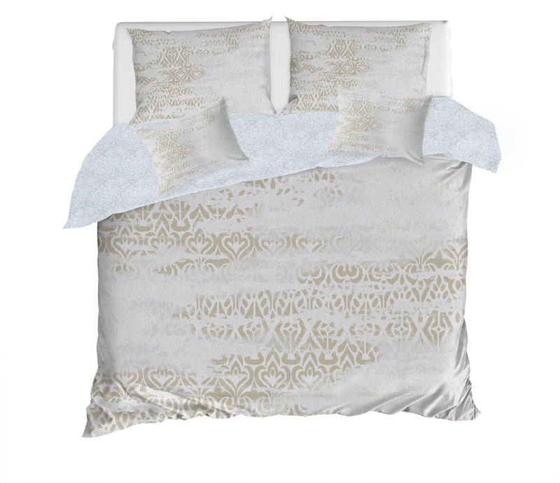 SIGRID BEIGE 5 Piece Sherpa Comforter Set By Scandi Girl Studio