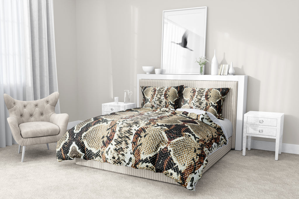 COBRA 5-Piece Sherpa Comforter Set By Kavka Designs