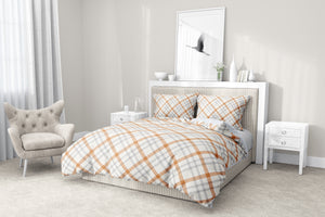PUMPKIN PIE 5 Piece Sherpa Comforter Set By Terri Ellis