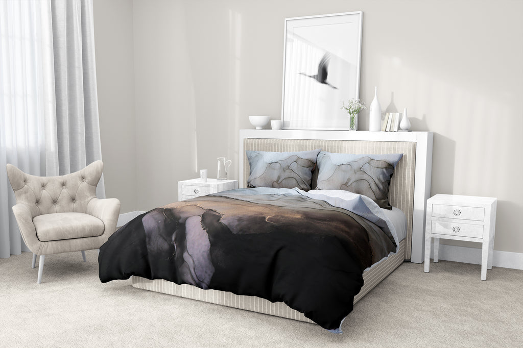 OYSTER II 5 Piece Sherpa Comforter Set By Christina Twomey